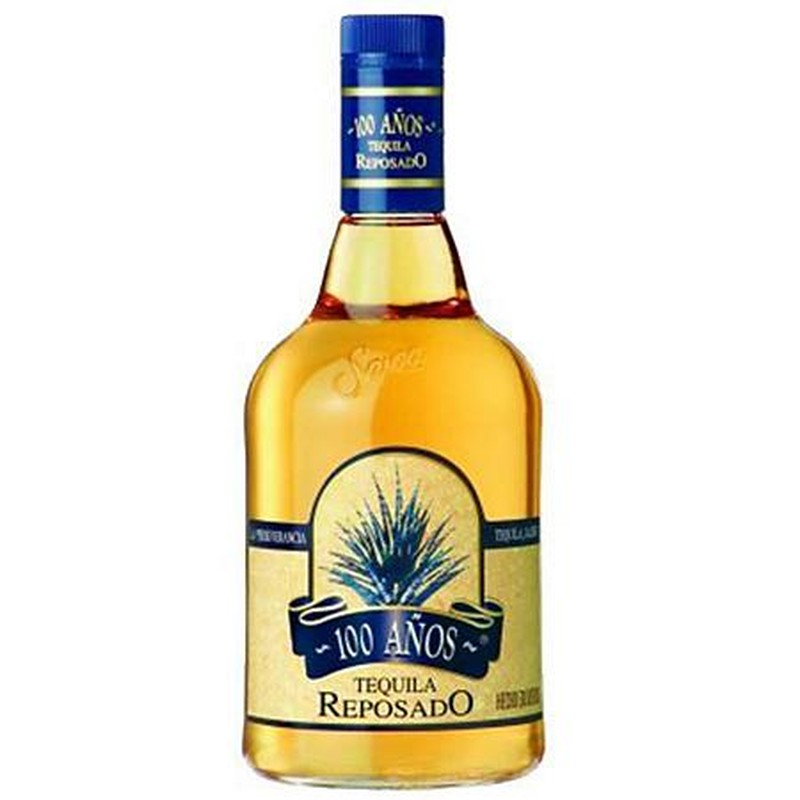 100 ANOS  TEQUILA REPOSADO 750ML