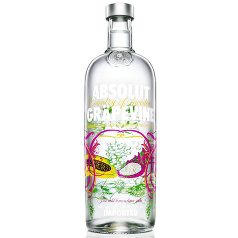 ABSOLUT GRAPEVINE 750ml