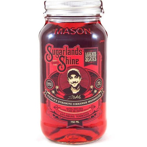 SUGARLANDS SHINE DYNAMITE CINNAMON MOONSHINE 750ML