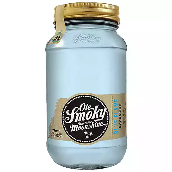 OLE SMOKY BLUE FLAME MOONSHINE 750ML