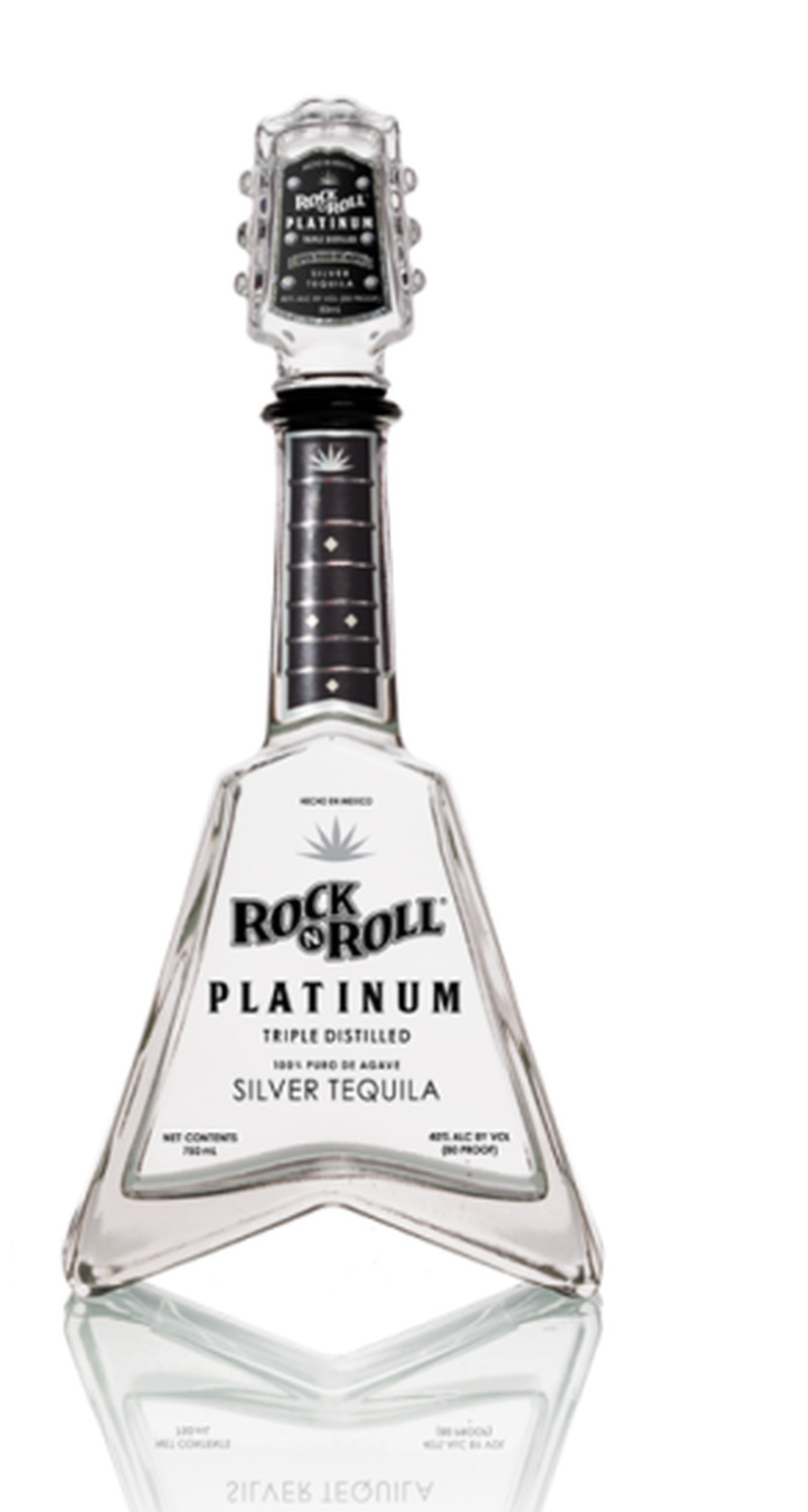 ROCK N ROLL TEQUILA SILVER PLATINUM  750ML