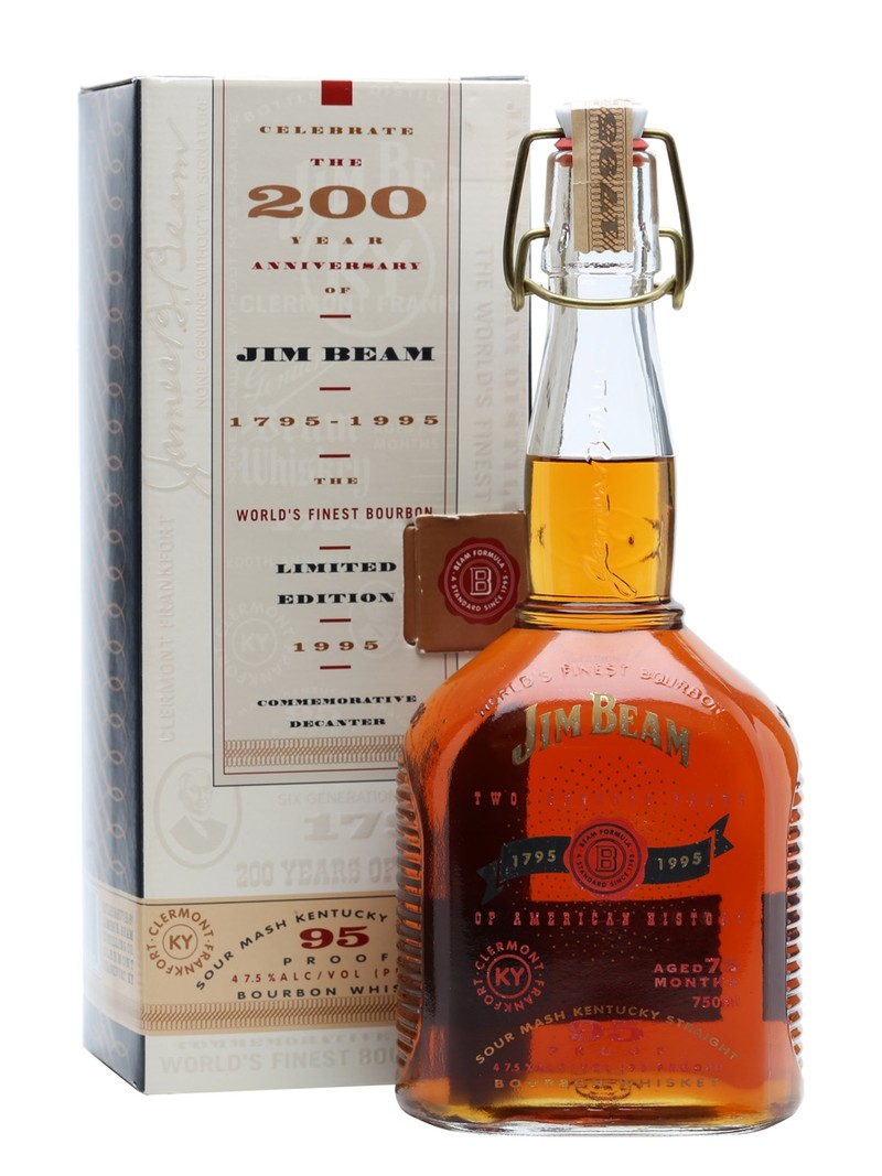 THE JIM BEAM 200th ANNIVERSARY (1795-1995) 750ML