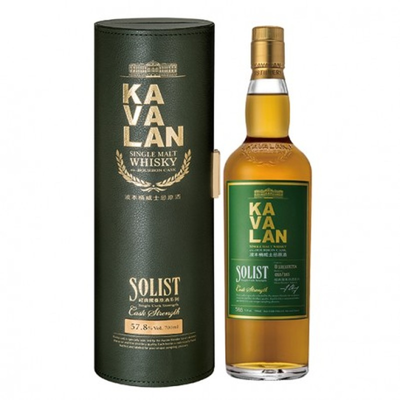 KAVALAN EX BOURBON CASK  SINGLE MALT 750ML