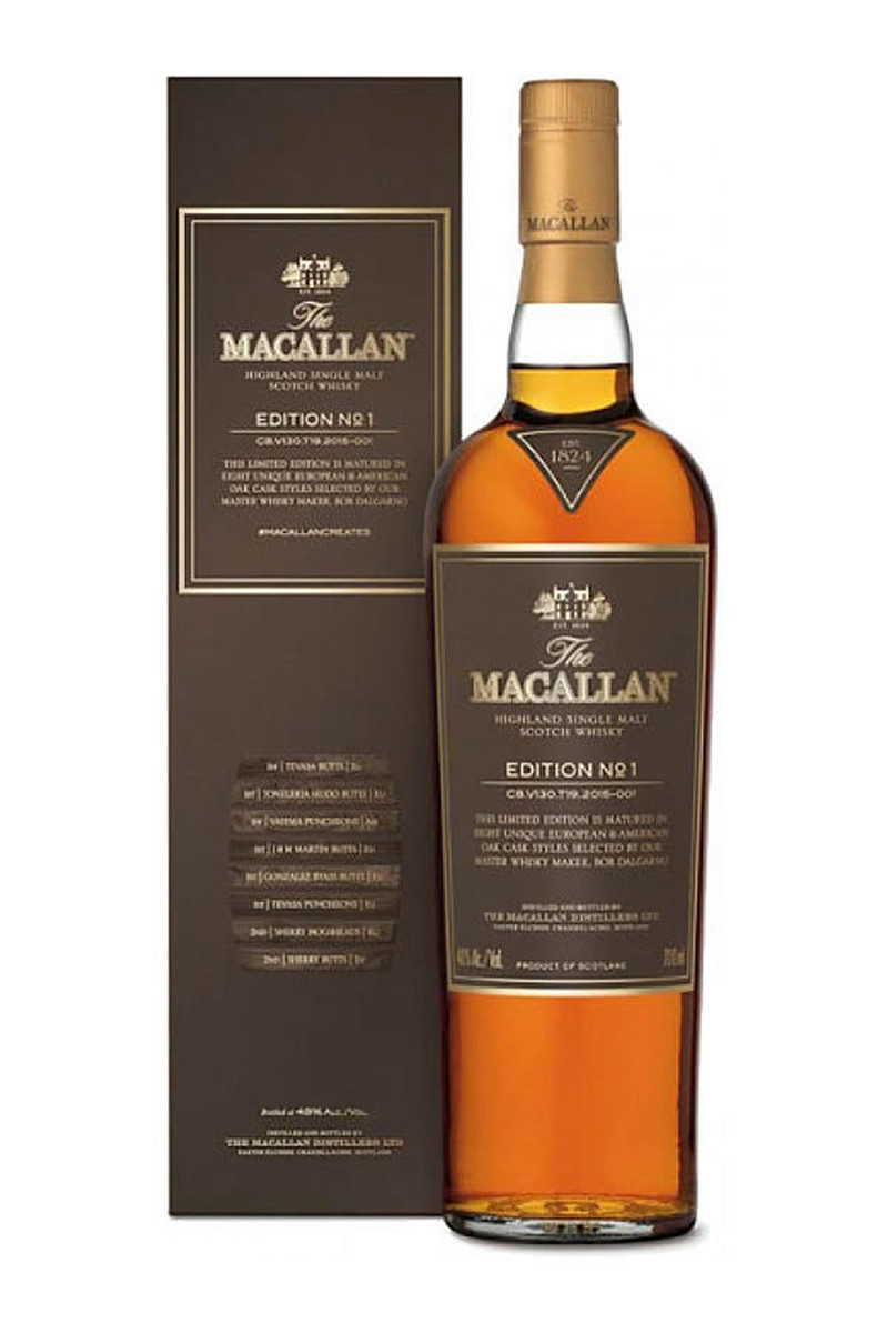 THE MACALLAN EDITION  No.1  750ml