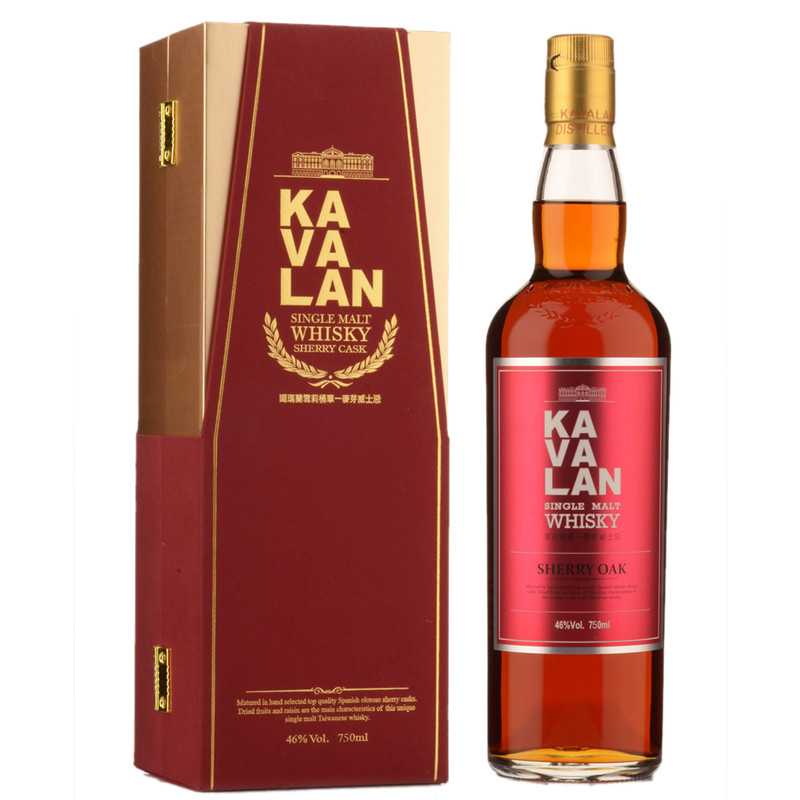KAVALAN SHERRY OAK  750ML