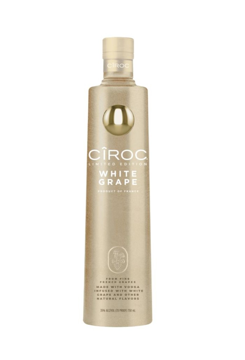CIROC WHITE GRAPE VODKA  750ML
