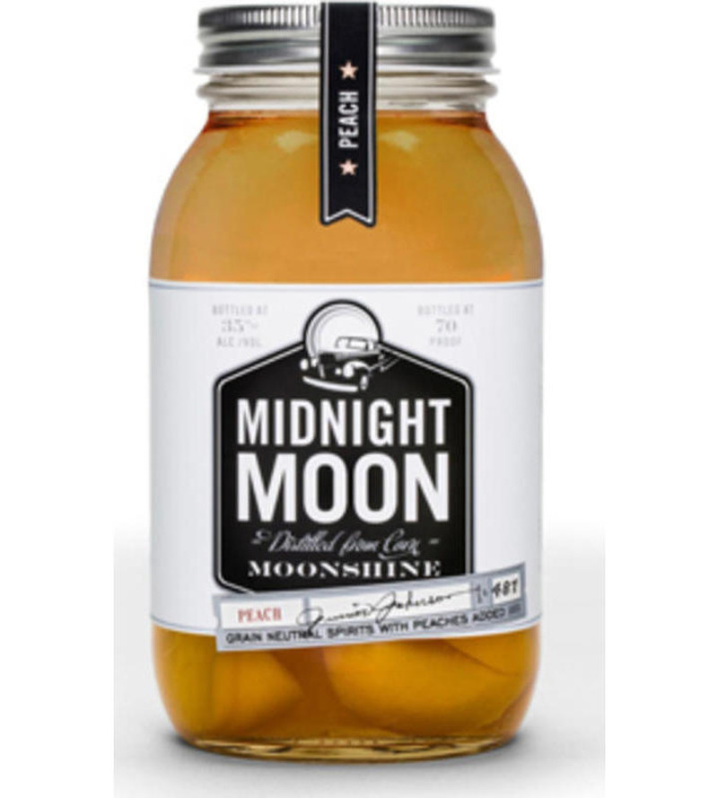 MIDNIGHT MOON MOONSHINE PEACH 750ML