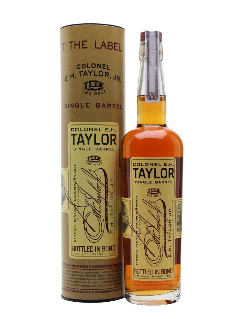 COLONEL E.H. TAYLOR JR. SINGLE BARREL 750 ML