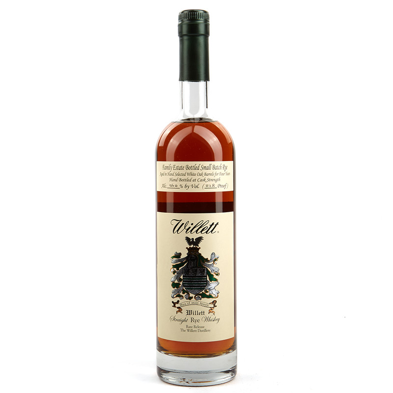 WILLET  4YR STRAIGHT RYE WHISKEY 750ML