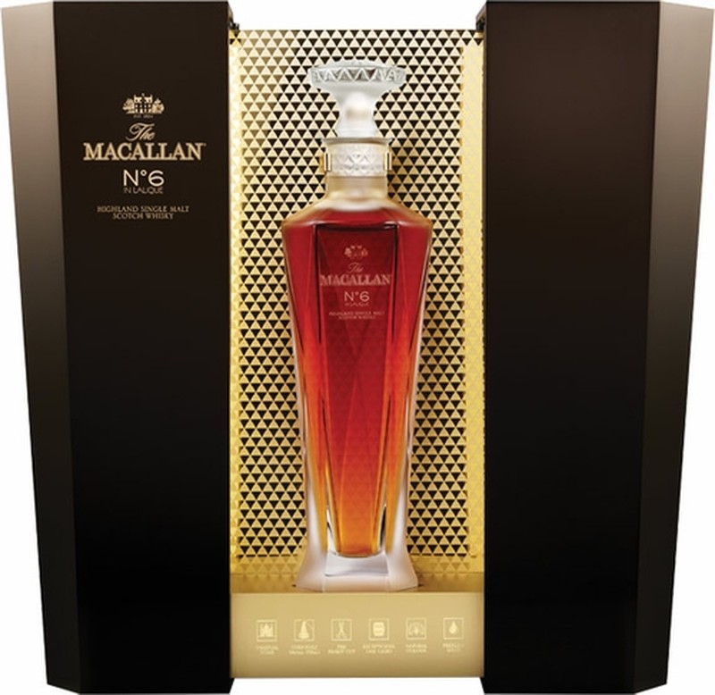 THE MACALLAN EDITION LALIQUE No6 750ml