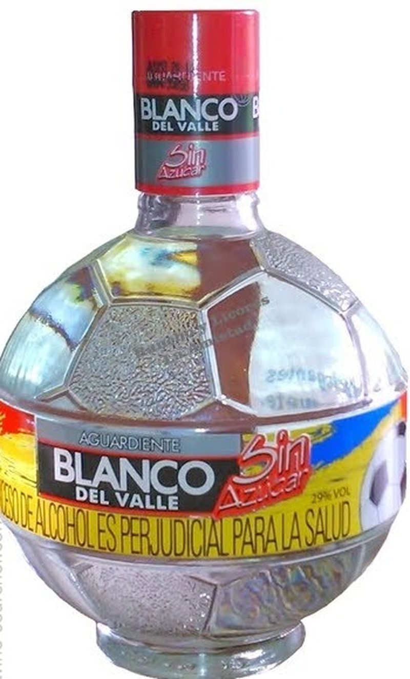 AGUARDIENTE BLANCO DEL VALLE SIN AZUCAR 750ML