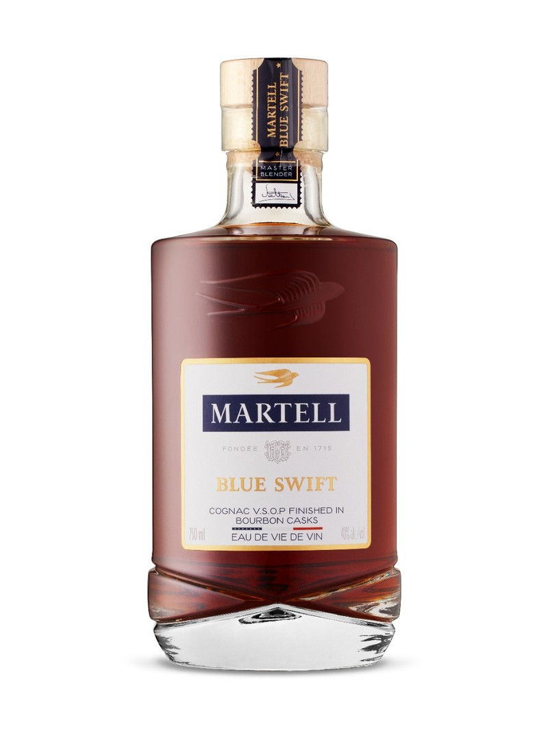 MARTELL  BLUE SWIFT COGNAC 750ML