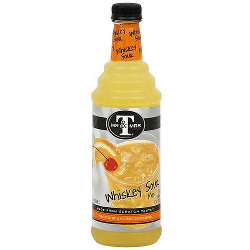 MR & MRS WHISKEY SOUR MIX 750ml