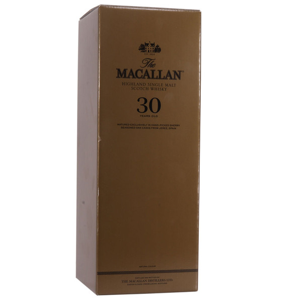 THE MACALLAN 30 YRS SHERRY OAK CASK 750ML