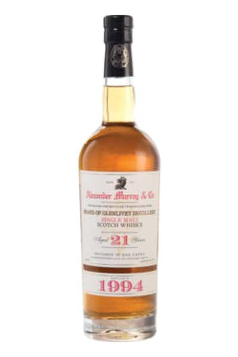 ALEXANDER MURRAY &  CO BRAES OF GLENLIVET 21 YRS SGL MALT 750ML