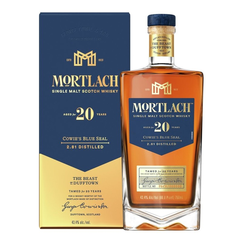 MORTLACH 20YRS 750ML