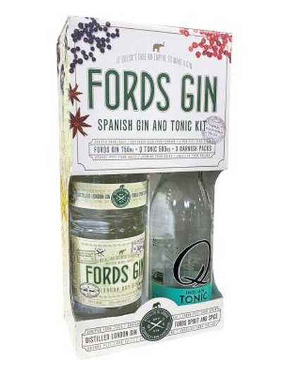 FORDS GIN SPANISH GIN AND TONIC KIT 750ML