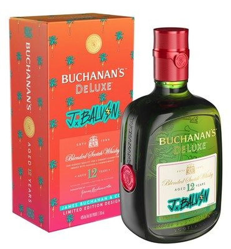 BUCHANAN'S DELUXE 12YR LIMITED EDITION J B 750ml